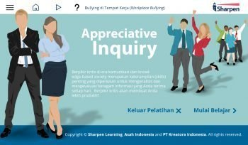 Sharpen E-learning: Appreciative Inquiry