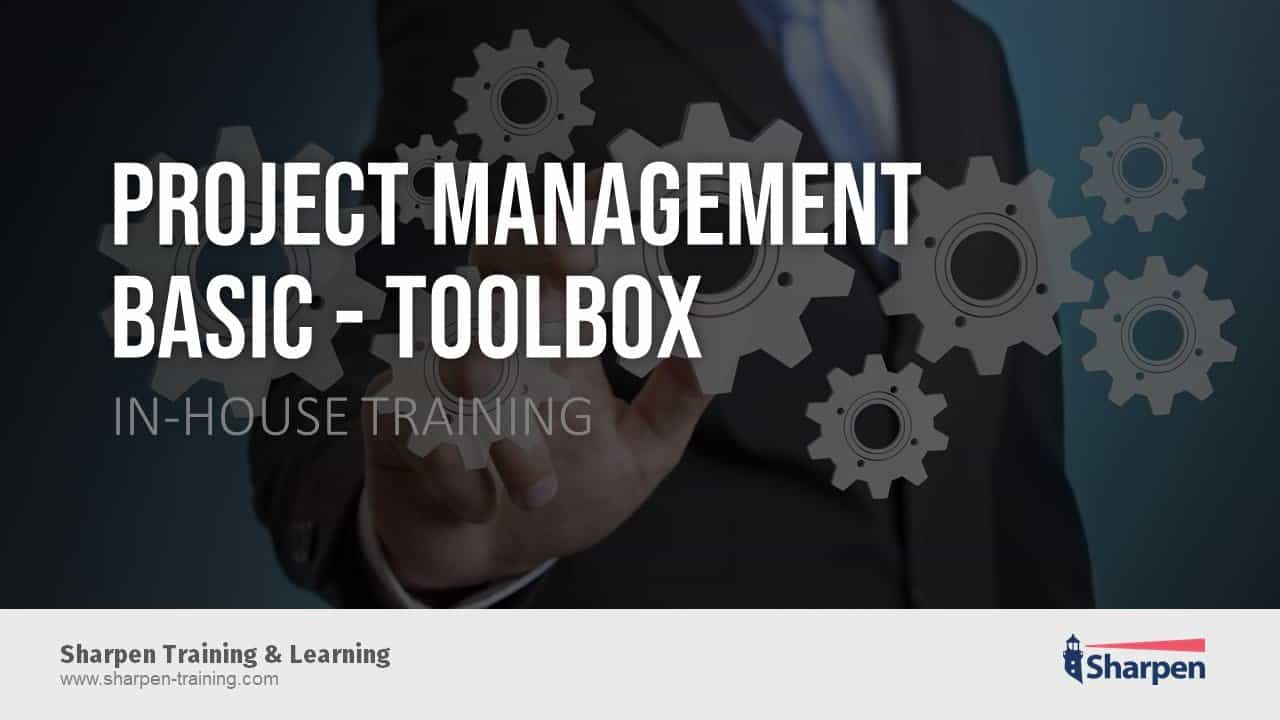 Sharpen In-house Training D2401_Project-Management-Toolbox-Basic_16x9_EN