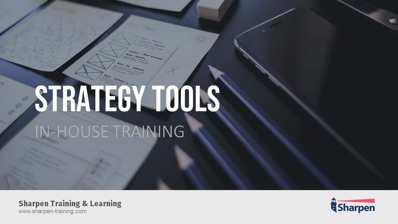Sharpen In-house Training D2500_Strategy-Tools_16x9_EN